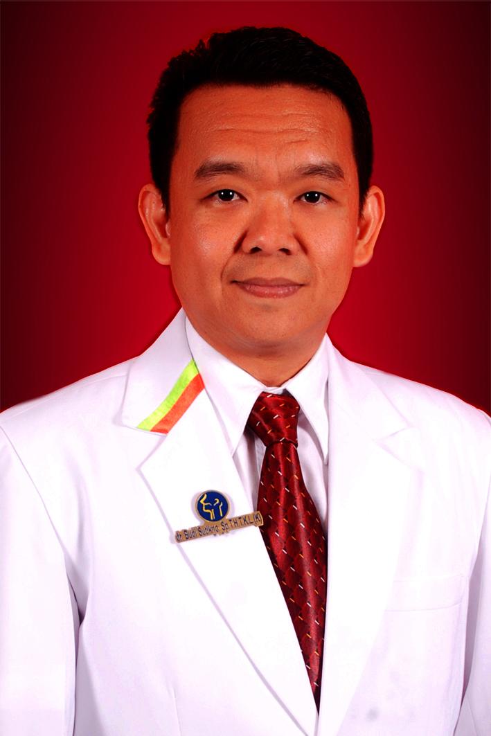 Budi Sutikno, dr., Sp.T.H.T.K.L (K), FICS