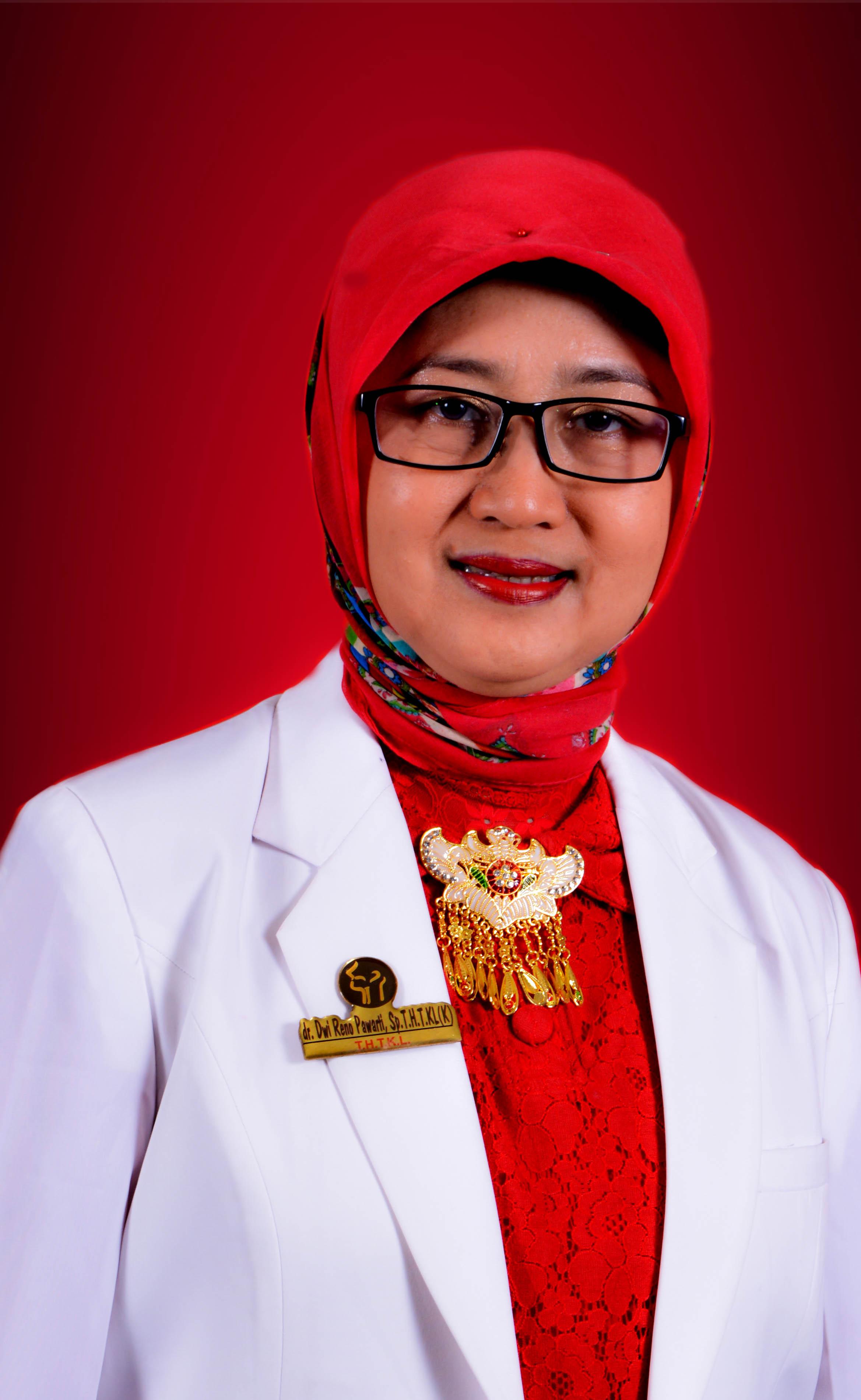 dr. Dwi Reno Pawarti, Sp. T.H.T.K.L ( K ) FICS