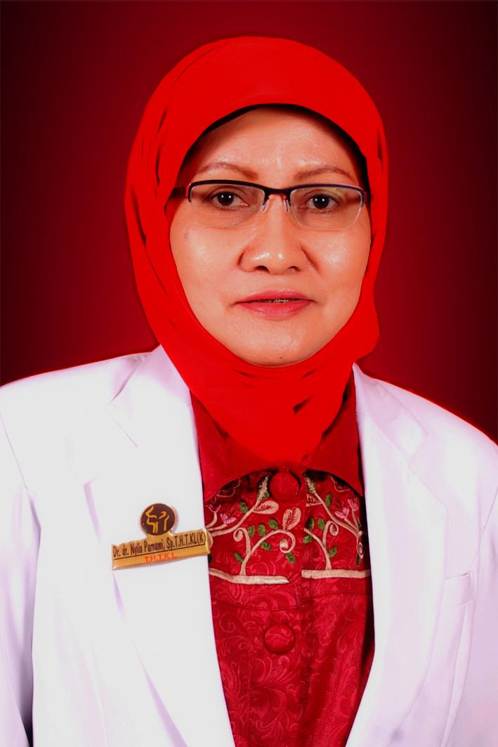 Dr. Nyilo Purnami, dr., Sp.T.H.T.K.L (K), FICS
