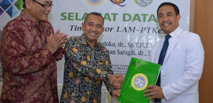 Akreditasi LAM-PTKes Program Studi Ilmu Kesehatan THT-KL